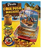 Coin Push Pirate Kids Machine Arcade Style Game Toy Playset