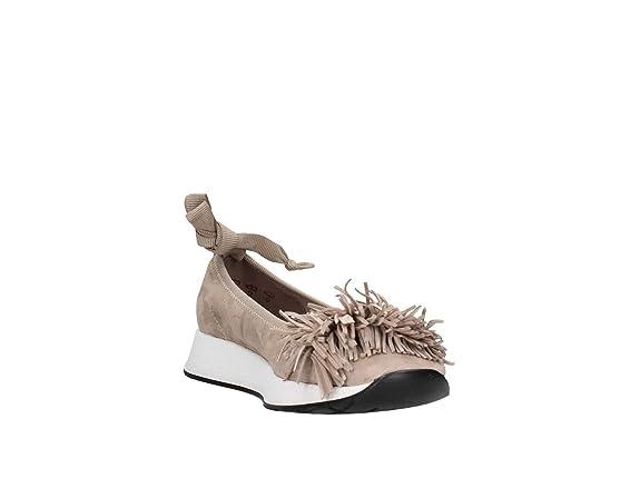 Amazon 37 Beige Zapatos 43a1 es Frau Bailarinas Y Mujer Verona wnUBxqBHY
