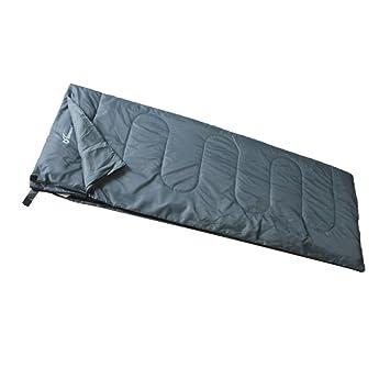 envolvente exterior para adultos saco de dormir doble/Los sacos de dormir pueden empalmarse los modelos de pareja/Acampar saco de dormir Ocio-gris: ...