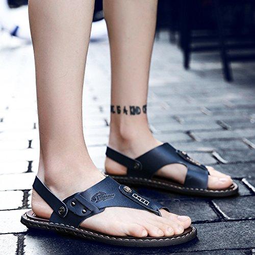 Männer Männer Männer Sandalen neue Sommer Cool Tow Dual-Use-Sand, Verschleiß, Verschleißfestigkeit und rutschfeste Zehe ddc92f