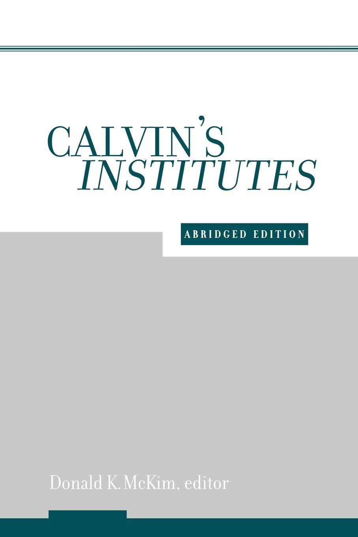 Download Calvin's Institutes PDF