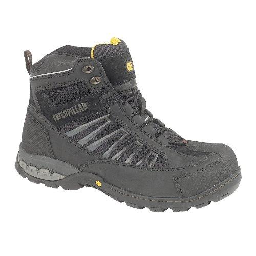 Cat Footwear Kaufman Hi S1p Herren Sicherheitsschuhe Schwarz