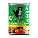 IAMS Dog Food Chunks with Savory Chicken and Vegetables Marinated in Gravy, 12.3-Ounce Cans (Pack of 12), My Pet Supplies