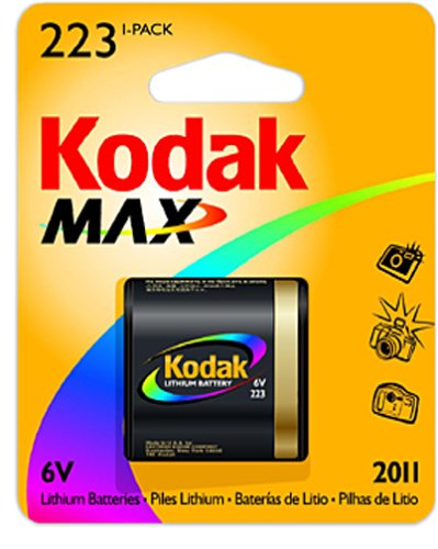 Kodak MAX K223KLA-1 Photo Lithium Battery Replacement