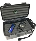Sigara Executive Collection 10-15 Cigar Travel Humidor Cutter Single Torch Cigar Gift Set
