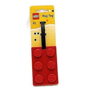 Étiquette Rouge De Bagage Lego Brique Papeterie SUVpqzM