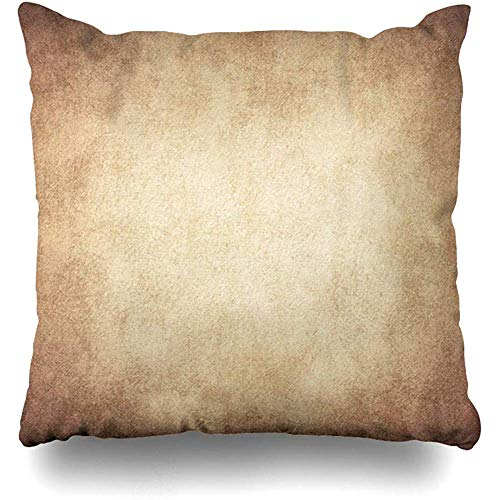 - Throw Pillow Cover Square 18x18 Gray Antiques Old Ancient Book Rice Canvas Cardboard Clean Corrugated Design Crumpled Zippered Cushion Case Home Decor Covers