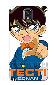 Exultantor Scratch-free Phone Case For Galaxy Note 3- Retail Packaging - 25 Detective Conan