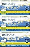 Natracare Organic Cotton Applicator Tampons Regular, 3 Pack (3 x 16)