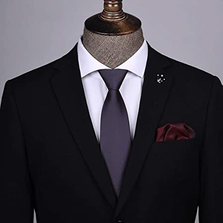 YXN Corbatas de Rayas/Color sólido/Corbata para Hombre/Lazy Zip ...