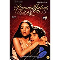 Romeo and Juliet (1968) DVD Leonard Whiting, Olivia Hussey and John McEnery
