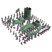 100pcs/Lot Army Combat Game Toys Soldier Set 3cm
