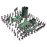 Generic 100Pcs/Lot Army Combat Game Toys Soldier Set 3Cm