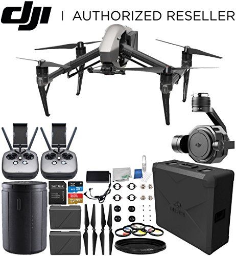DJI Inspire 2 Quadcopter with Zenmuse X7 Camera Professional Bundle