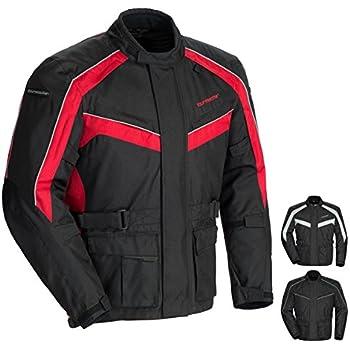 Tour Master Saber 4.0 Mens Textile Motorcycle Jacket - Red/Black / Large