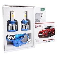 Headlights Bulb,DBTECH 2 Pack Replacement Lamp H7 Xenon LED Car Lights Auto Front Fog Light Bulbs Headlamp Kit
