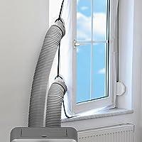 TROTEC AirLock 200 Fensterabdichtung für Klimageräte und Ablufttrockner Hot...