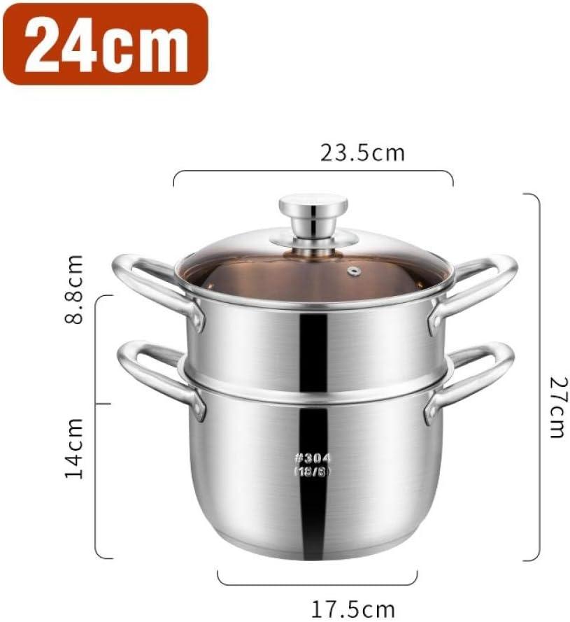 Olla de sopa Olla gruesa de acero inoxidable esterilizado, Fideos ...
