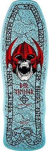 Powell-Peralta Per Nils Welinder Nordic Skull Light Blue Skateboard Deck - 9.62
