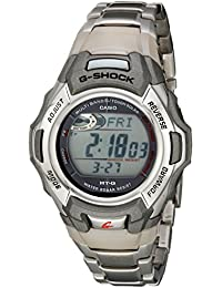 G-Shock MTGM900DA-8CR Men's Tough Solar Atomic Stainless Steel Sport Watch