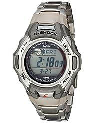 Casio Men's MTGM900DA G-Shock Stainless Steel Tough Solar Atomic Digital Watch