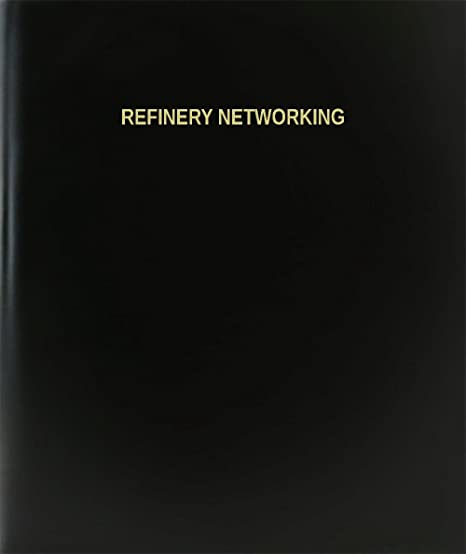 bookfactory refinery networking log book journal logbook 120 page 85