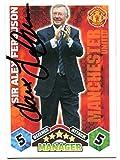 SIR ALEX FERGUSON SIGNED Topps Match Attax Soccer Trading Card Auto. Genuine Autograph! COA