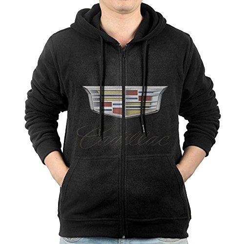 LuosisiJia Hoodie Sweatshirt Men's Cadillac Logo Long Sle...