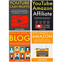 Ways to Make Money Online: 4 Different Internet Business Ideas. Blogging, Book Publishing, Amazon Associate & YouTube Marketing.