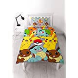 Pokemon Go Catch Single Rotary Duvet Cover Set Inc. Pillowcase by Character World