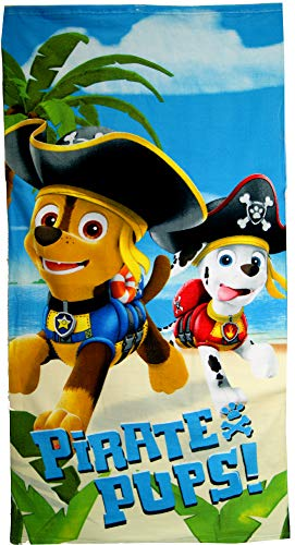 Paw patrol. Beach Towel,Swimming Towel,Official Licensed
