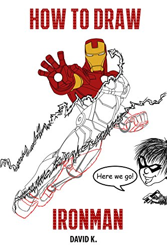 how to draw ironman the step by step iron man drawing book by