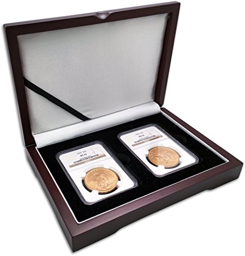 $20 Gold Double Eagle Denominational 2-Coin Set MS-62 ()