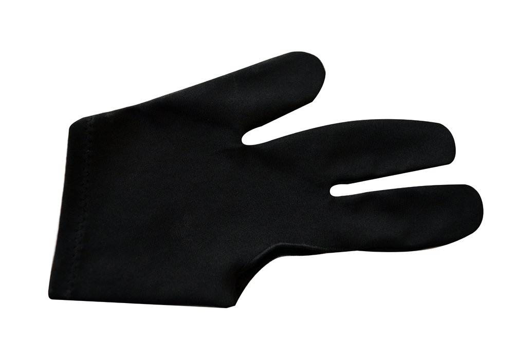 Champion Sport Black Billiards Gloves Image 3