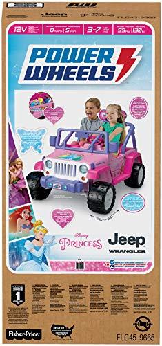 Power Wheels Disney Princess Jeep Wrangler by Power Wheels (Image #4)