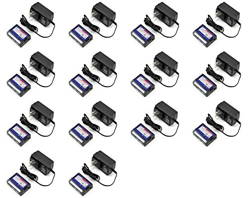 14 x Quantity of Walkera E-Eyes Battery Auto Shut-Off Charger LiPo 2S 3S 7.4v-11.1v by HobbyFlip