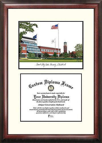 Grand Valley State University Academic Scholar Exquisitely Framed Imprinted (University Academic Framed Lithograph)