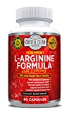 #8: L-Arginine Supplement Plus L- Citrulline, Best for Nitric Oxide Boost with Essential Amino Acids to Promote Cardiovascular Health & Athletic Performance, No Blast - 60 Capsules