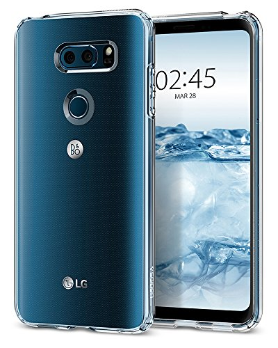 Spigen Liquid Crystal Designed for LG V30 Case (2017) - Crystal Clear