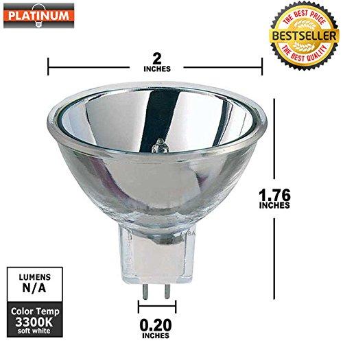 Ge Eke Microscope Light Bulb 21 Volt 150 Watt Gx5 3 Mr16 Faceted Reflector