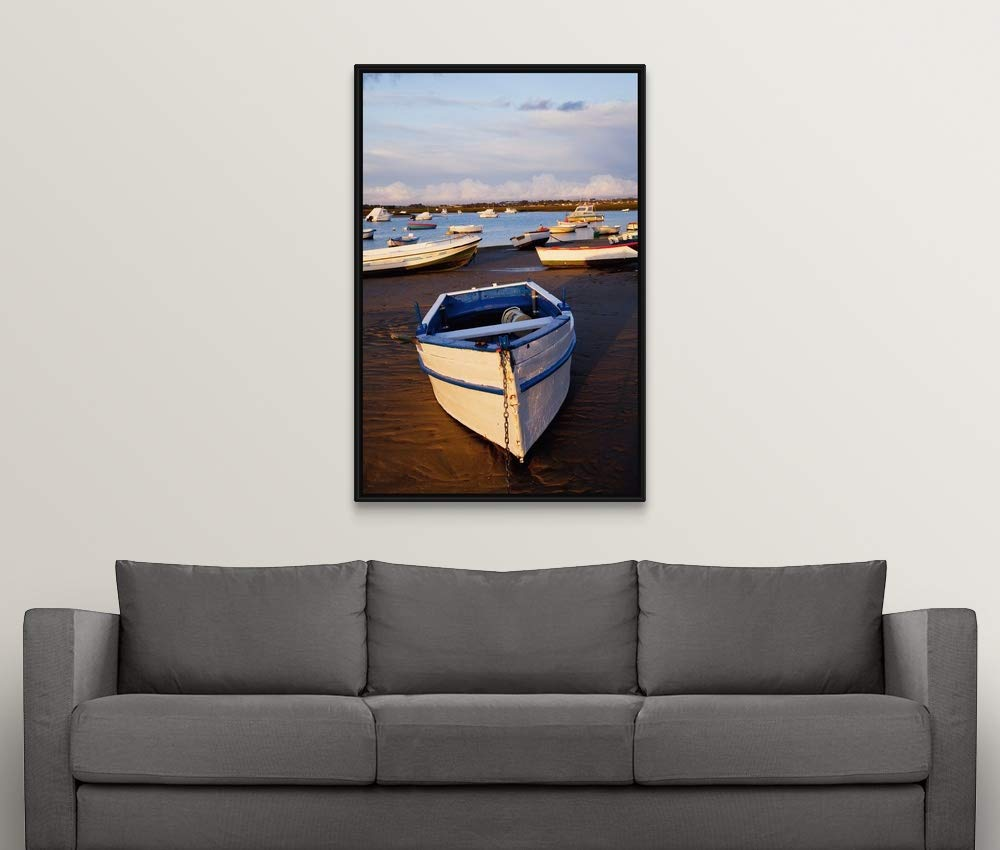 Amazon.com: Peter Zoeller Floating Frame Premium Canvas with ...