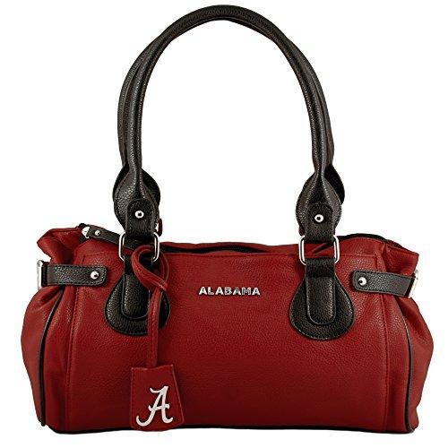 NCAA Alabama Crimson Tide Baywood Academic Handbag, Small by Sandol