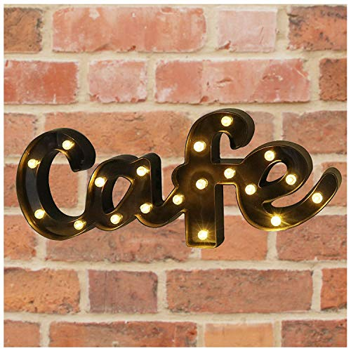 Decorative LED Illuminated Marquee Letter Sign Cafe (21.2