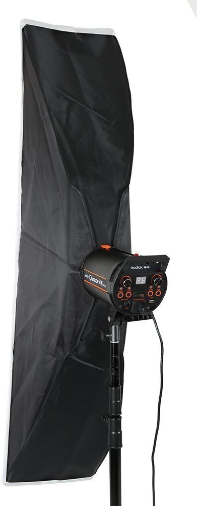 Fomito Godox 35x160cm 13.78 x 63 inches Studio Lighting Softbox Bowens Mount with Honeycomb Grid