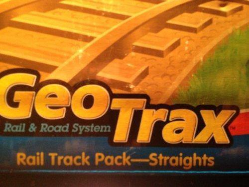 GeoTrax Rail & Road System Rail Track Pack - ()