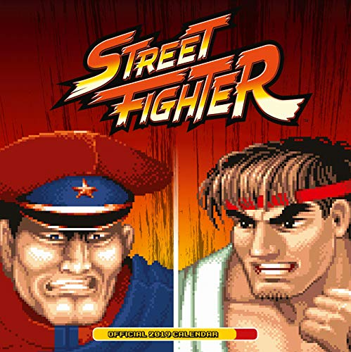 Street Fighter Official 2019 Calendar - Square Wall Calendar Format (Street Fighter Calendar)