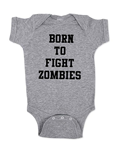 Born-To-Fight-Zombies-cute-funny-baby-one-piece-bodysuit