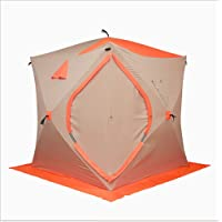 FAIGAFAIVA Ice Shelter 4 Person Pop-up Ice Fishing Tent Portable Top Insulated for Outdoor Fishing