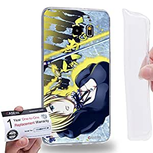 Case88 [Samsung Galaxy S6 Edge Plus] Gel TPU Carcasa/Funda & Tarjeta de garantía - Beelzebub Hildegarde 1741