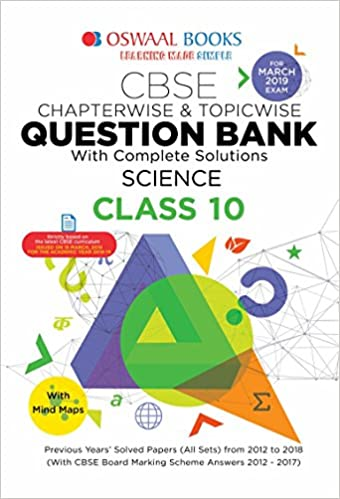 Oswaal CBSE Question Bank Class 10 Science Chapterwise and Topicwise